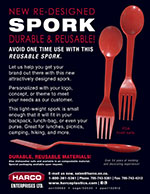 Newsletter - New Re-designed Spork