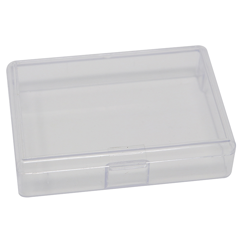 Mini Single Section Clear plastic box/container