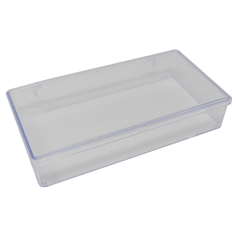 Large Single Section clear plastic box/container