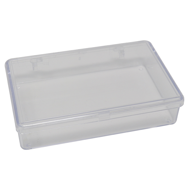 Small Single Section Clear plastic box/container
