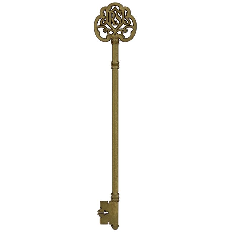 Gold key stir stick