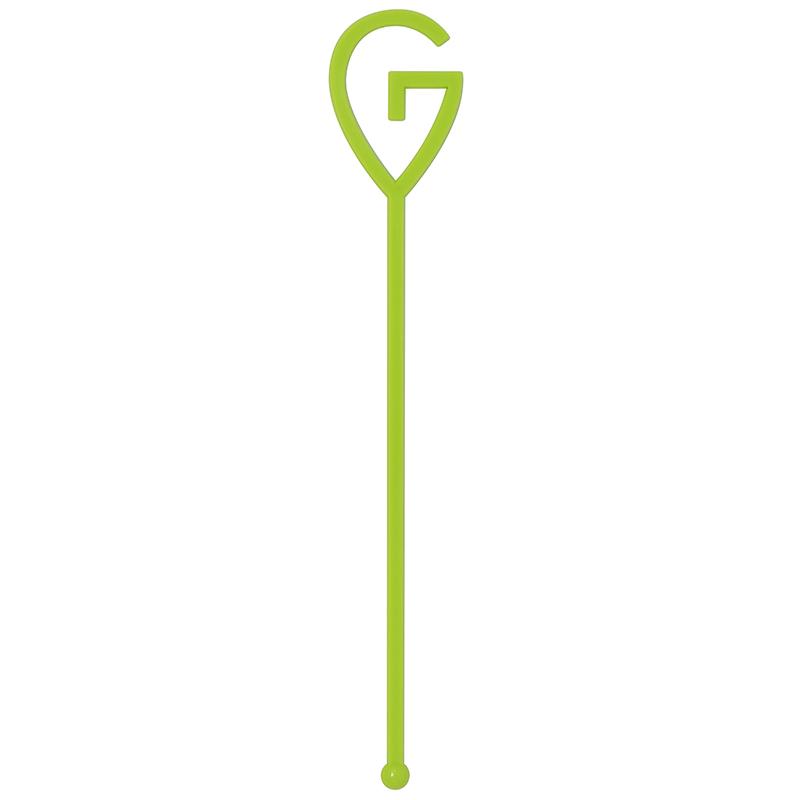 Green G stir stick