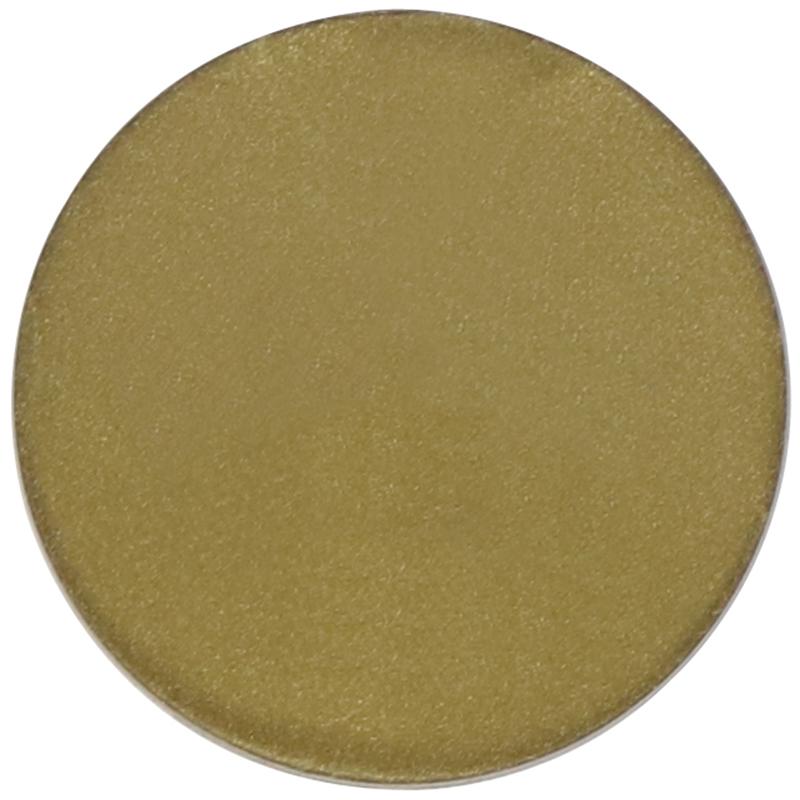 Plastic gold circle token