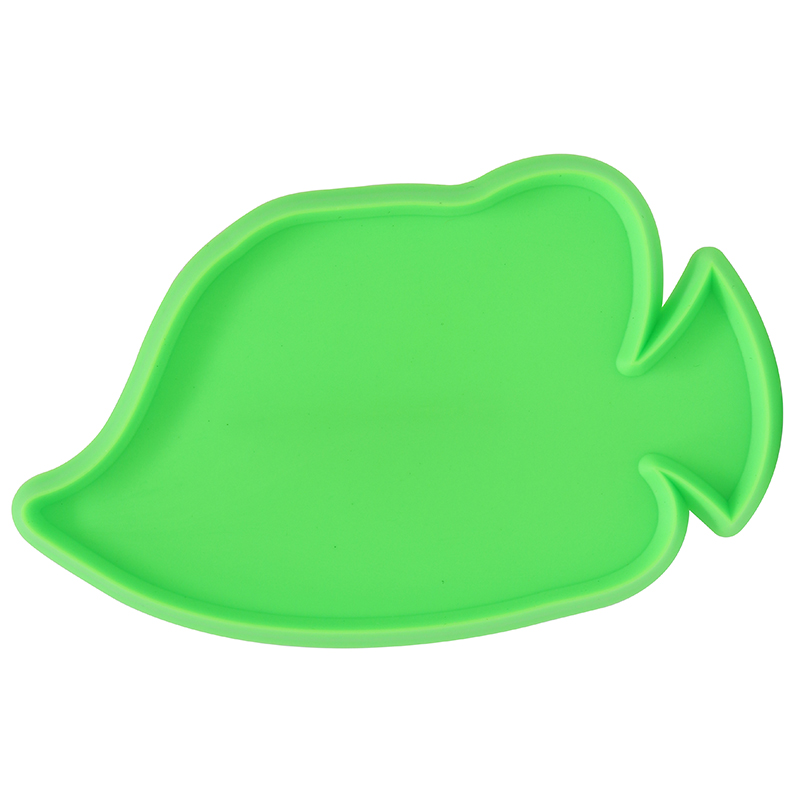 Green flounder fish shaped cookie cutter