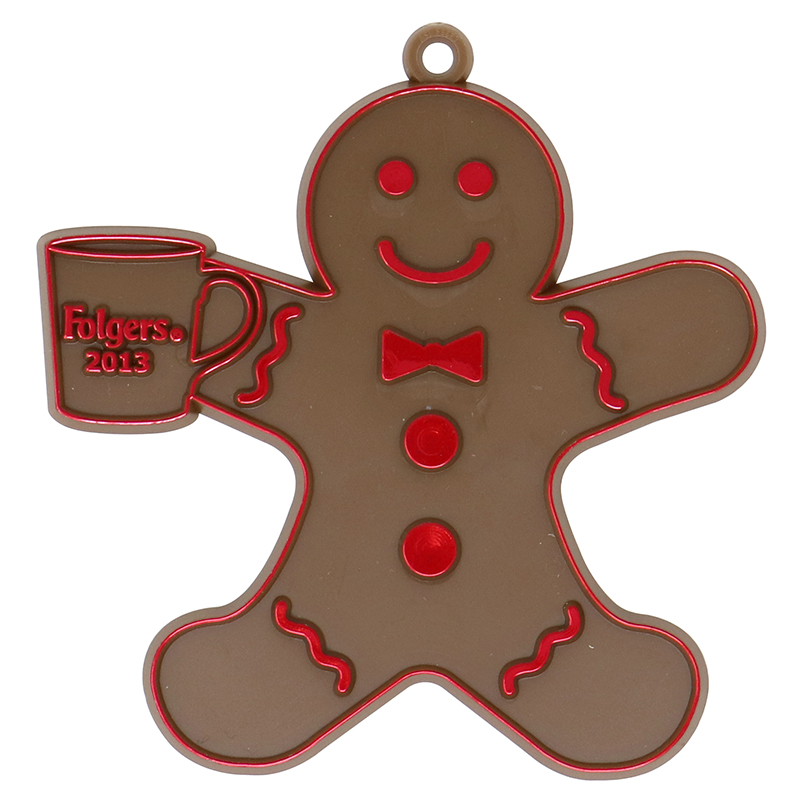 Plastic gingerbread man