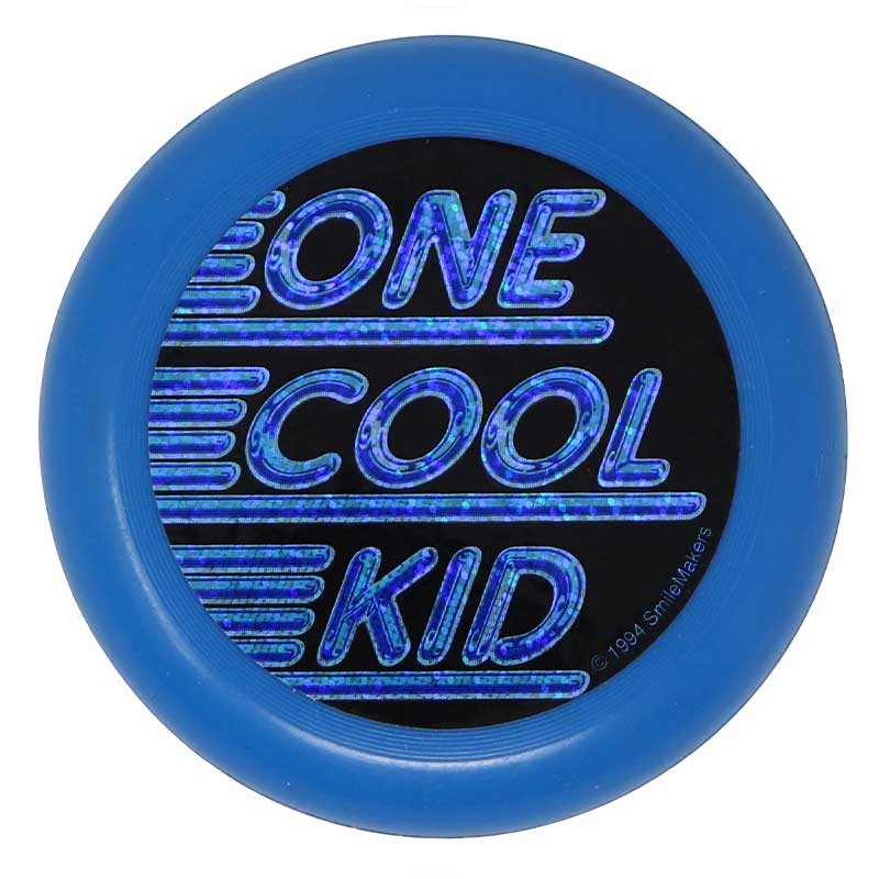 Imprintable Flying Disc - One Cool Kid