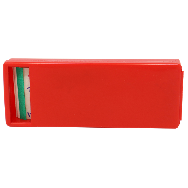 Red Plastic Bandage Dispenser