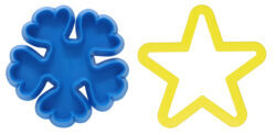 cookie press and cookie cutter nonimprintable