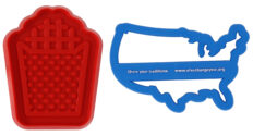 custom cookie press and cookie cutter